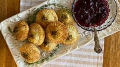 Thanksgiving Hand Pies With Stuffing Filling