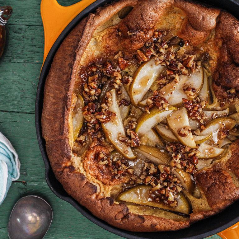Pumpkin Pie Spiced Dutch Baby