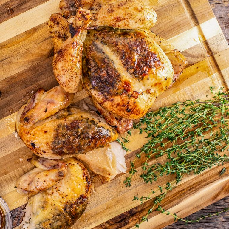 Anne Burrell's Herb-Roasted Chicken