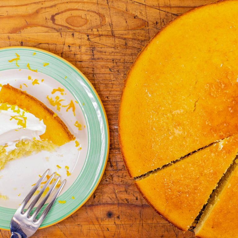 Clinton Kelly's Orange Olive Oil Cake