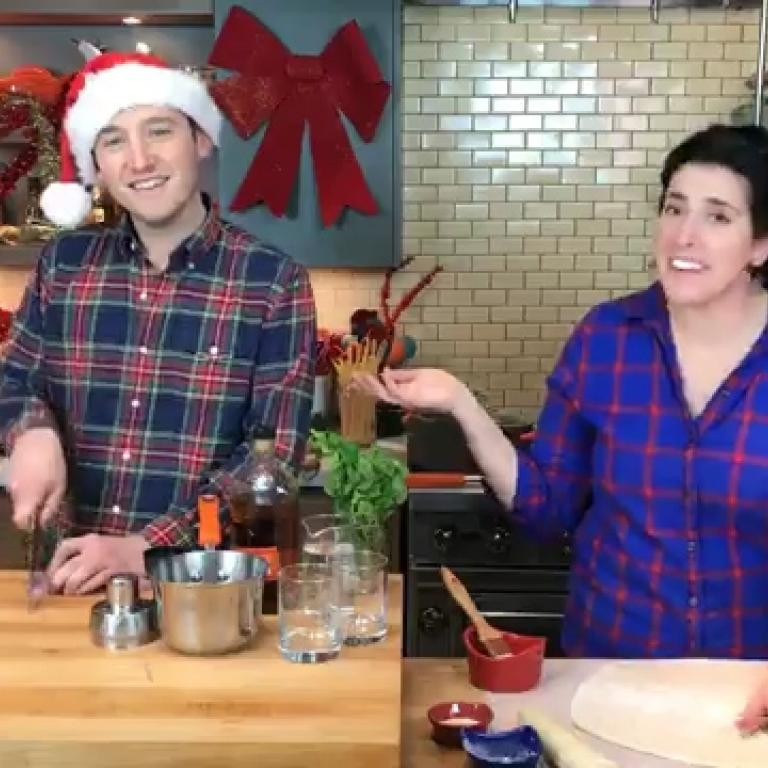 Holiday Fun with Jeanette + Grant