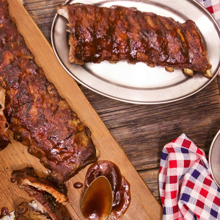 Katie Lee's BBQ Baby Back Ribs
