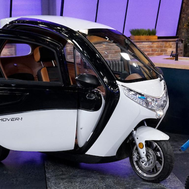 3-Wheeled Electric Car