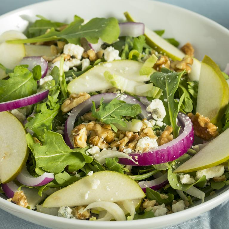 Escarole Salad with Pears and Blue Cheese