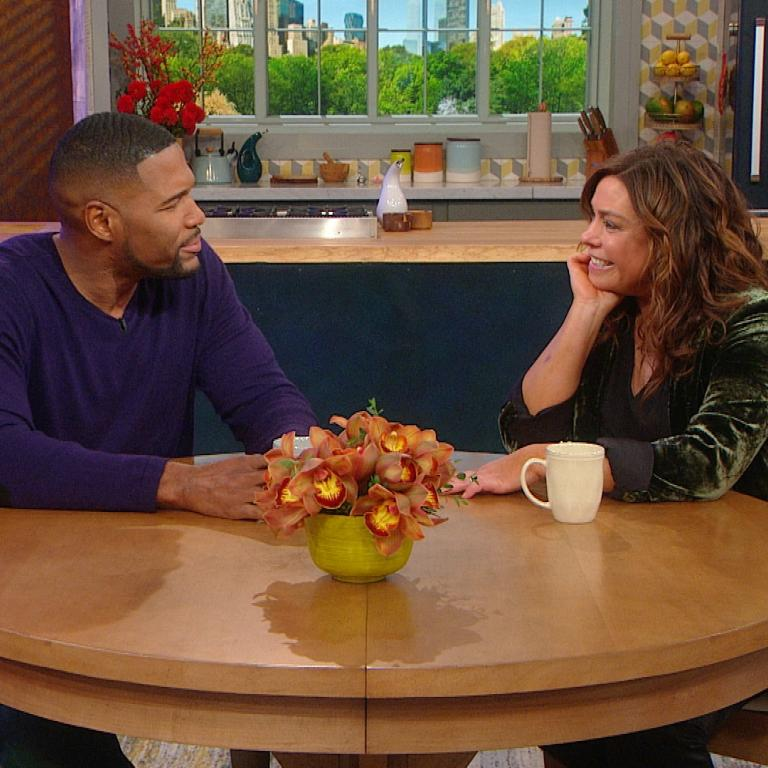 Michael Strahan and Rachael Ray