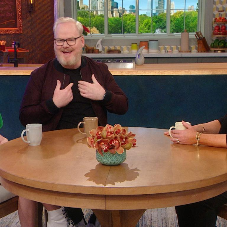 Jim Gaffigan, McKenna Grace and Rachael Ray