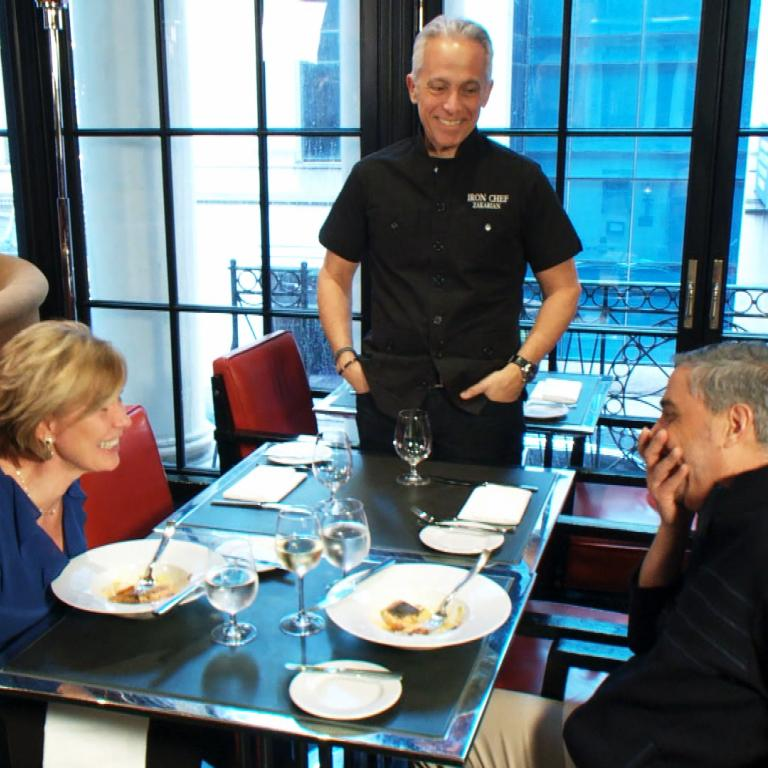 Chef Geoffrey Zakarian, Bonnie and Dave