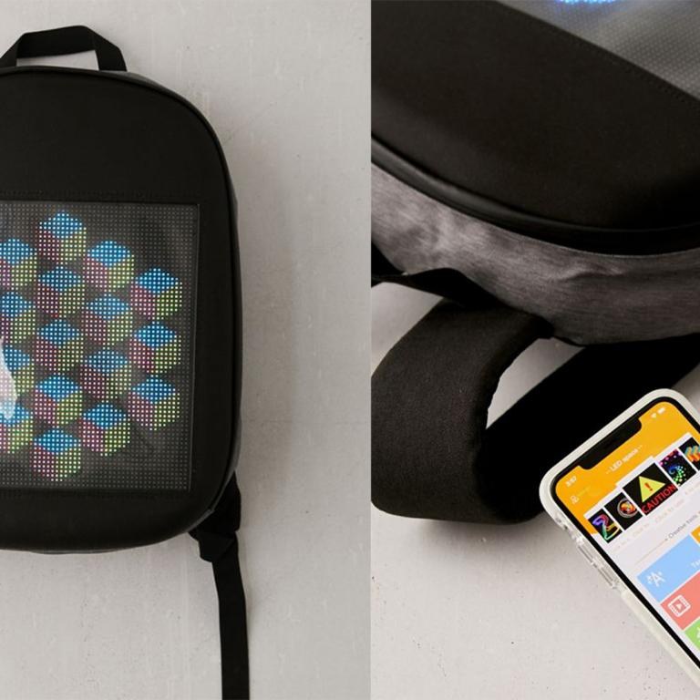 Popar SwagBag backpack and smartphone app