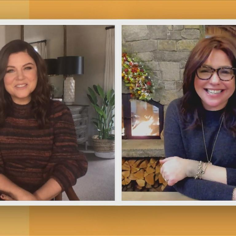 Tiffani Thiessen and Rachael Ray