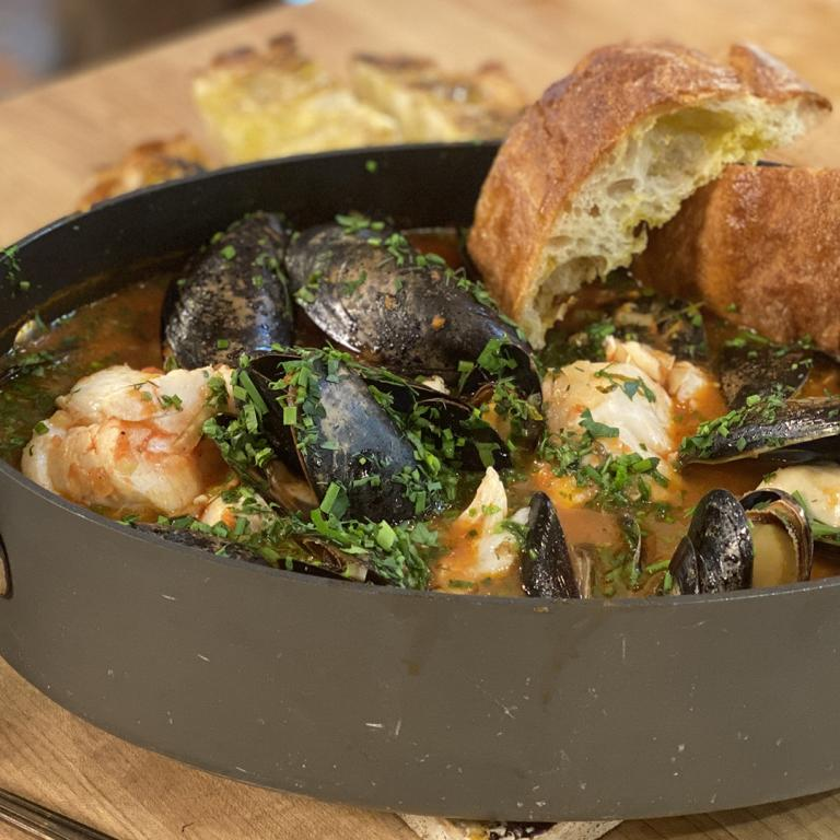 Simple Fish and Tomato Stew