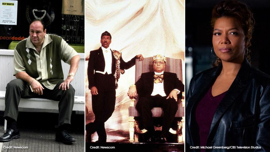 James Gandolfini/Coming To America Cast/Queen Latifah in the Equalizer