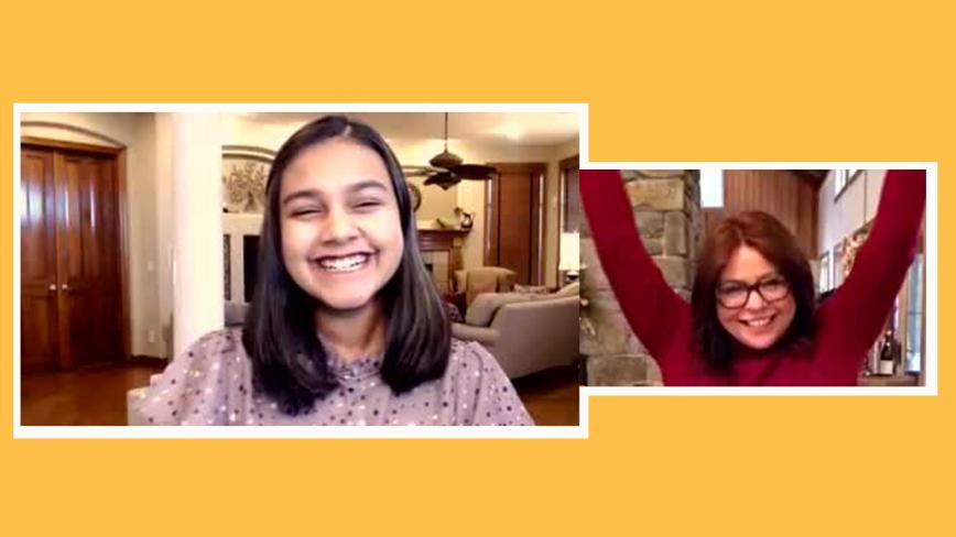 gitanjali rao and rachael ray
