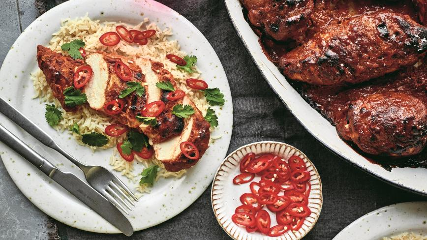 Tandoori Oven Chicken
