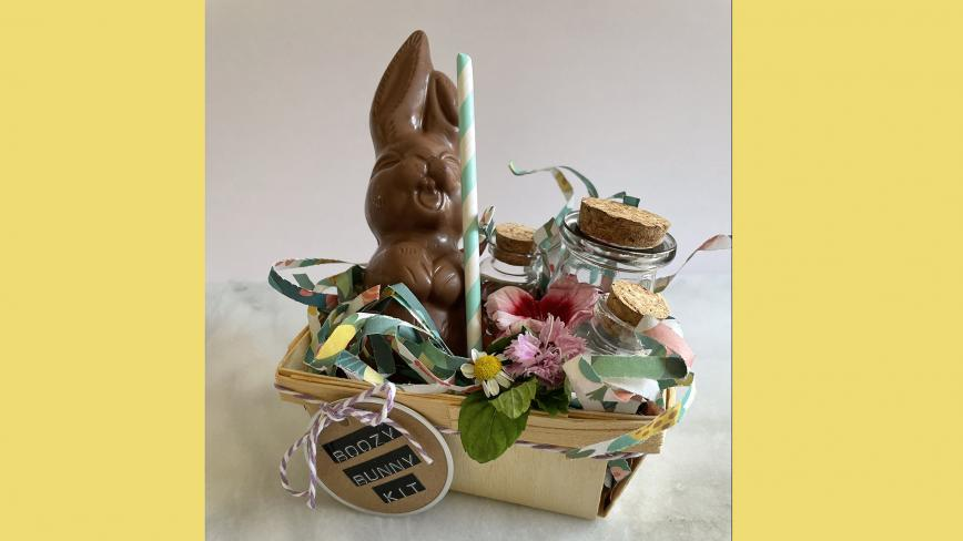 chocolate bunny cocktail kit