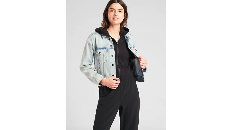 athleta denim jacket