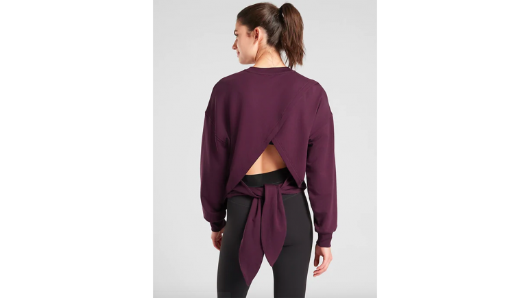 sweatshirt with tie athleta