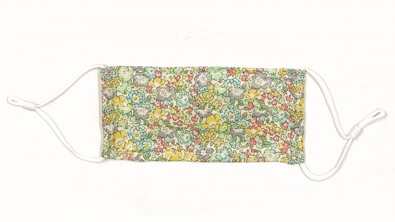 OTTE Floral Mask In Green