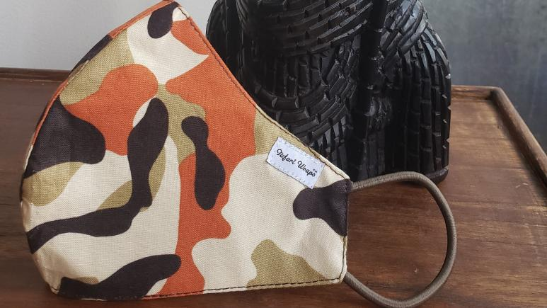 Tafari Wraps Rebel Camouflage Mask