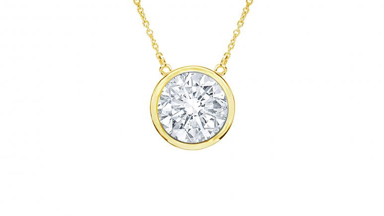 Diana M. Diamond Necklace