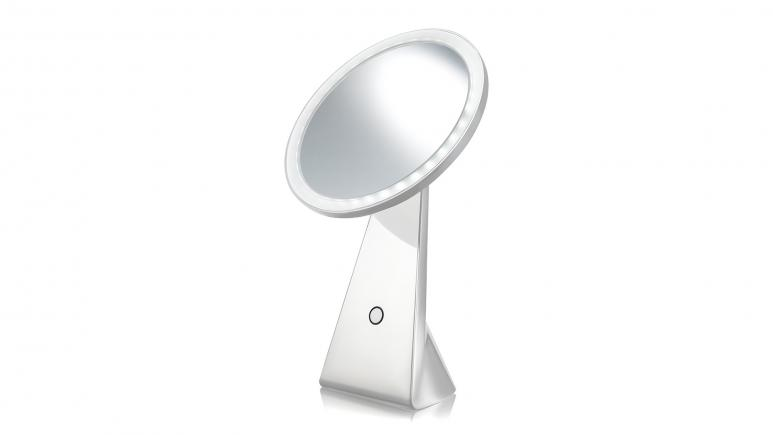 NuBrilliance Cordless Rechargeable LED Mirror